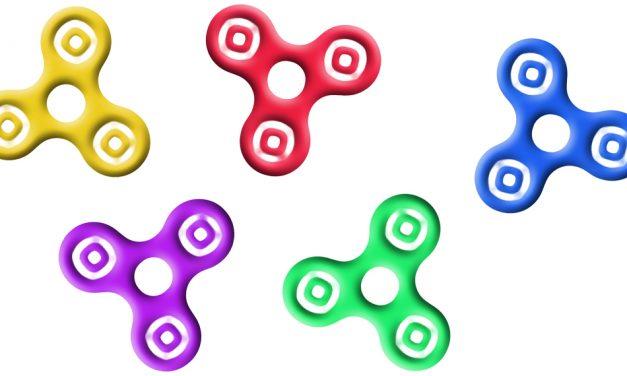 Fidget Spinners er det nye legetøj for både børn og voksne
