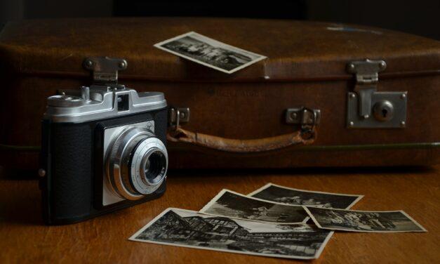 Bevar minderne med et polaroidkamera